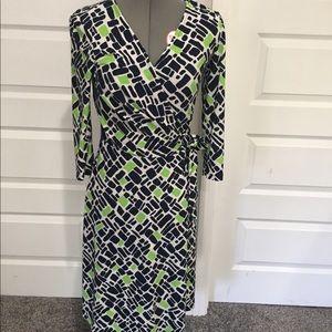 Chaps wrap dress S